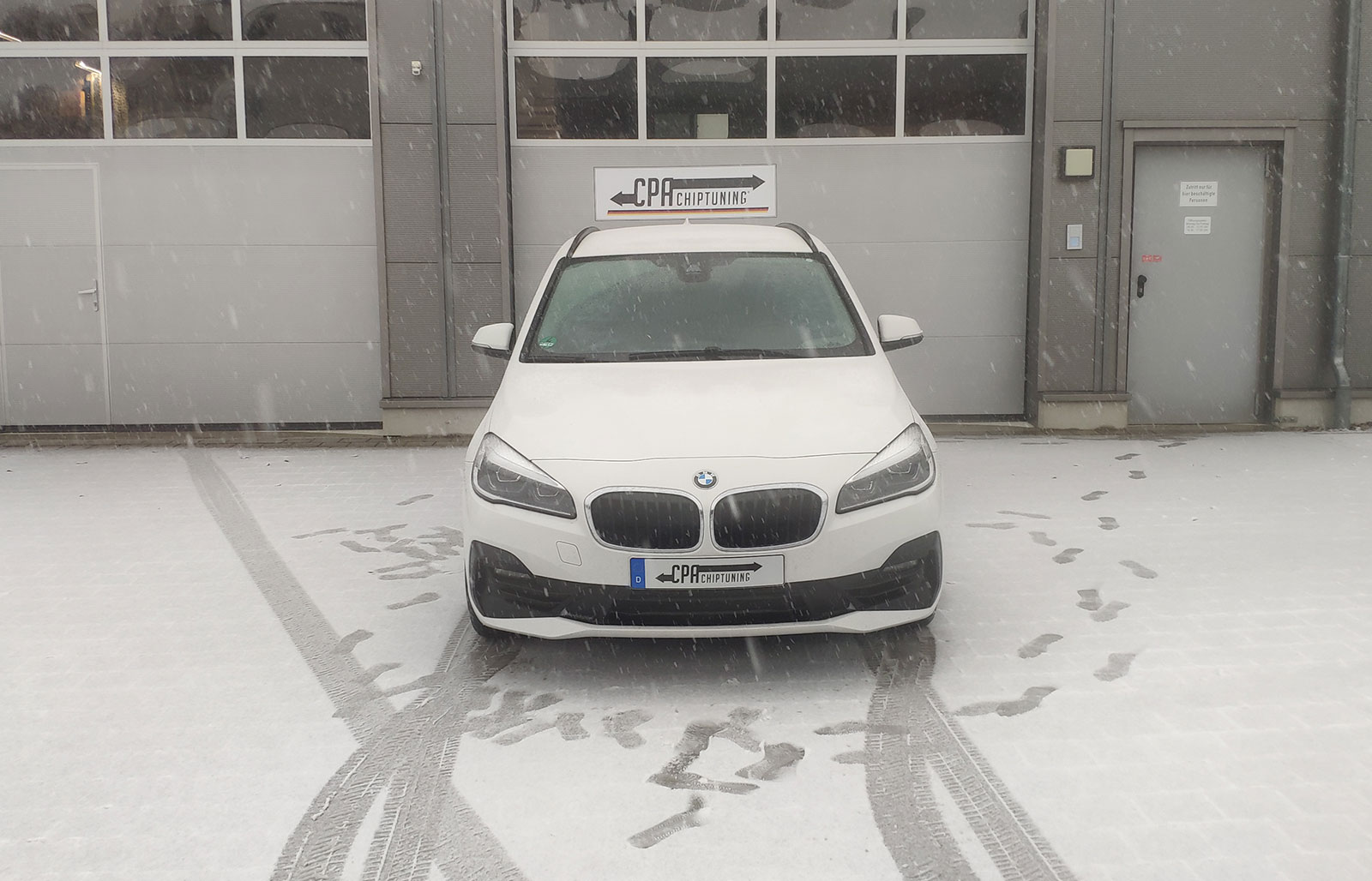 BMW 218i Active Tourer i stadighedstesten