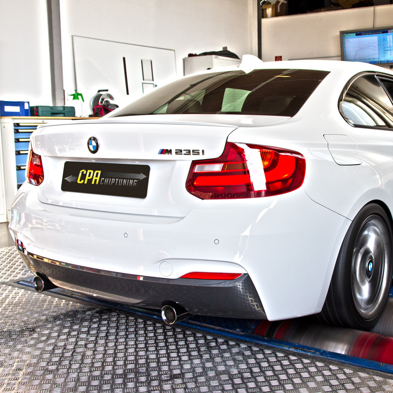 Motorkontroll for BMW M235i